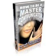 How To Be A Master Communicator/effortless/audio 2 cd How To Be A Master... - $3.99