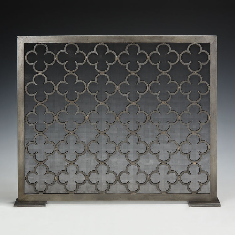 Moroccan Style Wrought Iron Fireplace Decorative Fire Screen 33 39 39 X 27 1 4 39 39 H Fireplace