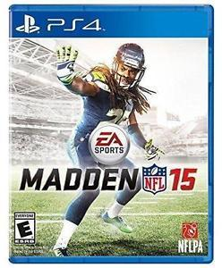 Madden NFL 15 (Sony PlayStation 4, 2014) Video Game