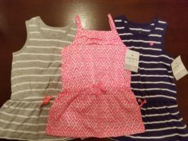 Carter's Playwear  Toddler Girls Sleeveless Top Size 2T 3T 4T  NWT - $8.79