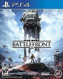 Star Wars Battlefront (Sony PlayStation 4, 2015) PS4 Video Game