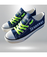 seahawks shoes women seahawks sneakers mens fashion seattle football fan... - $55.00+