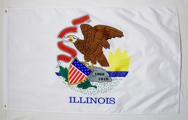 Illinois State Flag 3' X 5' Indoor Outdoor Banner - $9.95