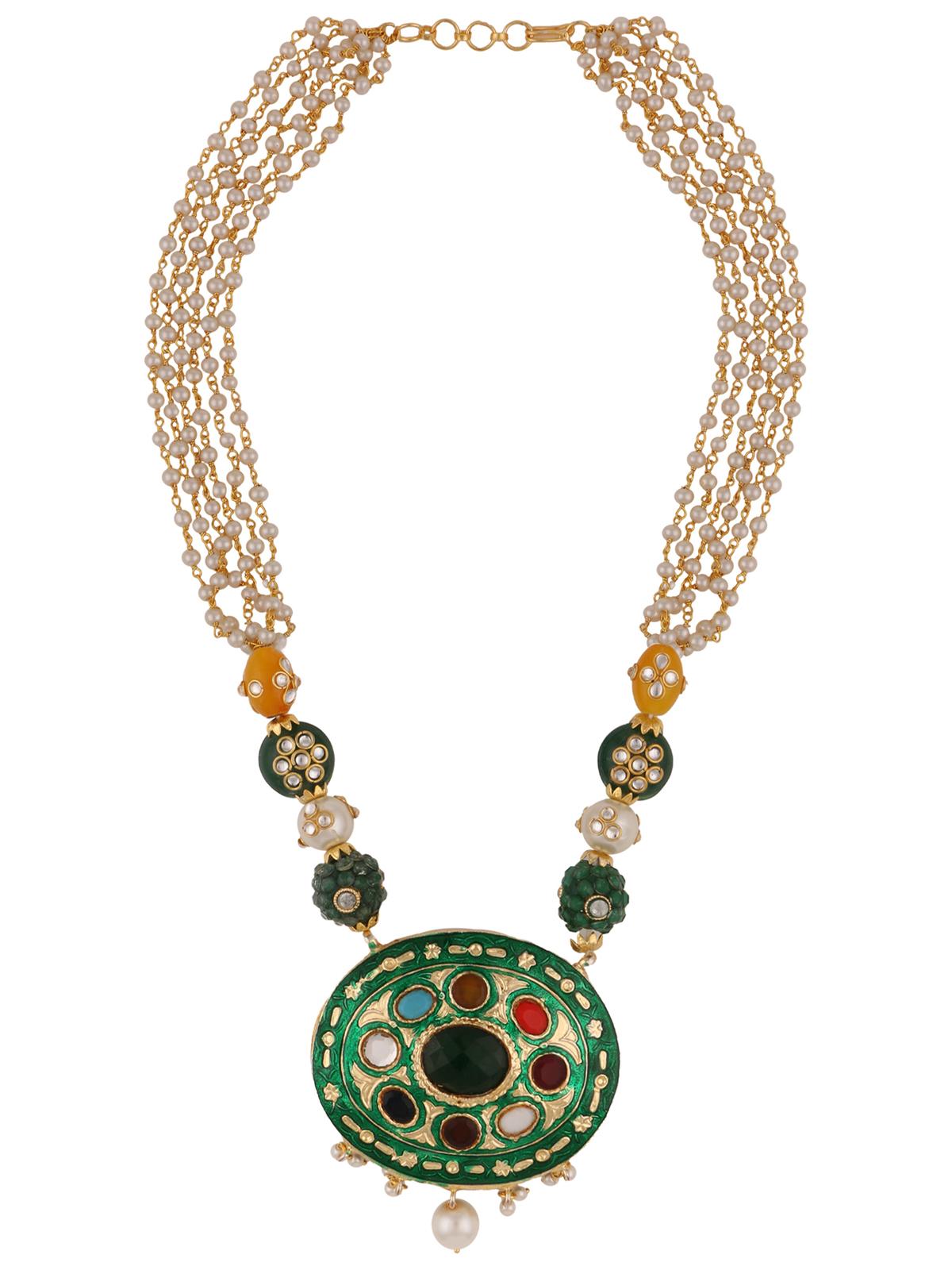 Efulgenz Designer Necklace Set for women