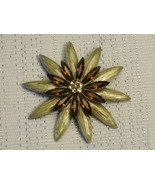 Cookie Lee Fall Starburst Brooch - Item #48159 - New! - $12.00