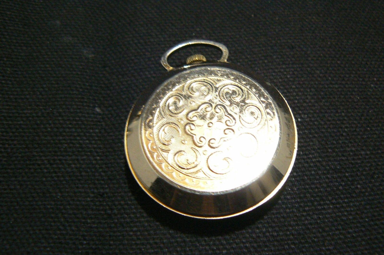 Beautiful Vintage Lantex Swiss Made Pocket Watch