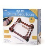 Bulk Buy: Darice DIY Crafts Deluxe Bead Loom Solid Oak 15 x 14 x 3.5 inc... - £89.44 GBP