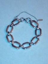 Silvertone Monet chain bracelet - $12.00