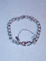 Silvertone simple chain bracelet Monet - $8.50