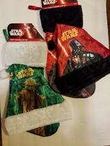 Star Wars Darth Vader or Yoda Christmas Stocking & Hat Combo  NWT - $8.44