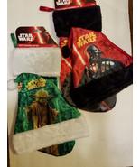 Star Wars Darth Vader or Yoda Christmas Stocking & Hat Combo  NWT - $10.39