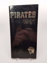 PITTSBURGH PIRATES 1981 MEDIA GUIDE THREE RIVERS STADIUM - $17.33
