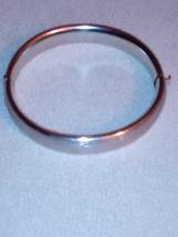 Classic Simple silver cuff bracelet - $8.50