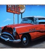Vacation antique car usa route 66 motel tin plate sign wall plaques cave.jpg 220x220xz thumbtall