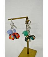 NWT Coach Floral Resin PVC Tea Rose Key Chain Charm F58517 Beautiful Acc... - $79.00