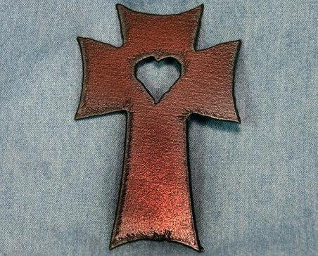 Magnet metal cross