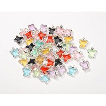 Bulk Buy: Darice DIY Crafts Acrylic Charms Butterfly Multi Color 9.5 x 1... - $18.58