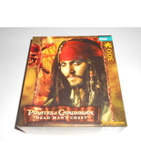 Disney Pirates of the Caribbean Dead Man's Chest 300 Piece Puzzle Complete - $7.95