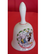 Vintage Christmas Bell Looney Tunes 1977 Decor Porky Pig, Bugs Bunny Daffy Duck - $32.99