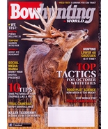 Bow Hunting World September October 2016 NEW Trail Cameras,Barnett Ghost... - $4.95