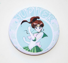 Sailor Jupiter round pin Sailor Moon - $2.47
