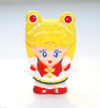Super Sailor Moon figure figurine finger puppet vintage Bandai Japan - $4.94