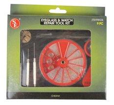 Eyeglass and Watch Repair Tool Kit, 9-Piece   SE JT69WGK  - $16.99