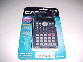 Casio FX-115MS Plus Scientific Calculator 2-Line Display Students Black New - $49.49