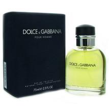 Dolce & Gabbana Pour Homme 2.5 oz 75 ml Men's Eau De Toilette Cologne Sp... - $35.99