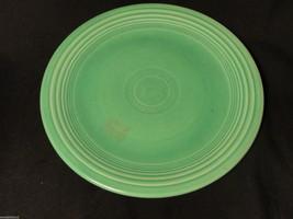Vintage Green Fiesta 7.5 inch Salad Plate Signed Mint - $7.99