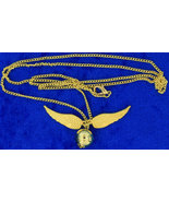 Golden Snitch Necklace Gold Color Chain Length ... - $4.49 - $5.99