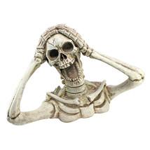Large: Screaming Skeleton Dead Grave Crawler Human Skeleton Halloween St... - £63.49 GBP
