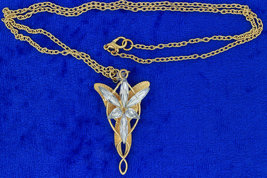 Arwen Evenstar Necklace Aragorn Chain Style Length Choice - $4.49+
