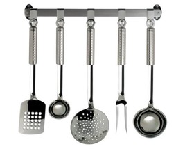 Fissler Magic 6 Piece Utensil Set Including Han... - $194.14