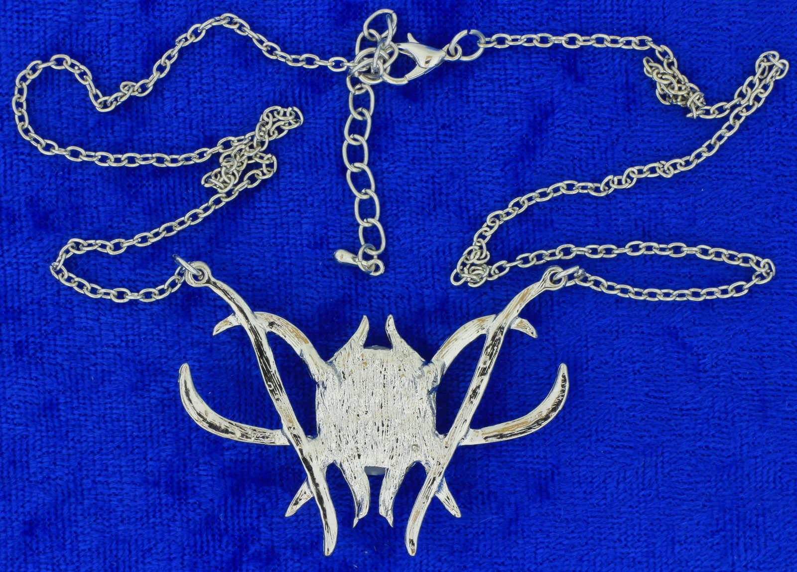 Elf Queen Spider Necklace Chain Length Choice