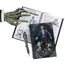 Walking Dead Zombie Apocalypse Spiral Hardcover Blank Journal Diary Note... - $33.61