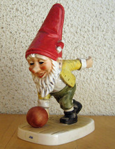 Collectible Rare Vintage Retired German Porcelain Figurine Goebel Co Boy... - $70.00