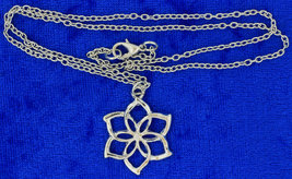 Lady Galadriel Flower Necklace or Keychain Chain Style Length Choice - $3.99+