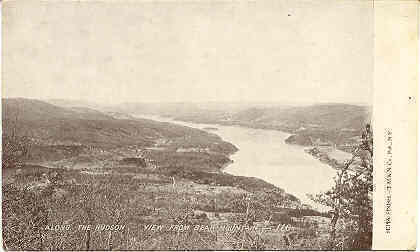 Bear Mountain Central Valley New York vintage 1906 Post Card