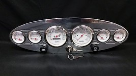 6 GAUGE UNIVERSAL OVAL DASH CLUSTER WITH SWITCHES  - $326.90