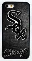 NEW CHICAGO WHITE SOX MLB BASEBALL PHONE CASE FOR iPHONE 6 6 PLUS 5C 5 5... - $14.99
