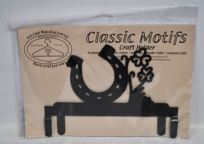 Classic Motifs 6in Luck Header Charcoal Craft Holder
