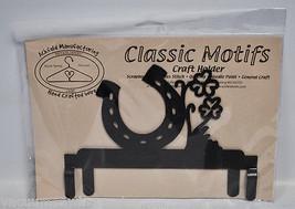 Classic Motifs 6in Luck Header Charcoal Craft Holder - $13.75