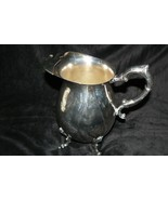Beautiful Vintage Sheridan Silver Co Silver Plate Footed Water Pitcher w... - $39.59