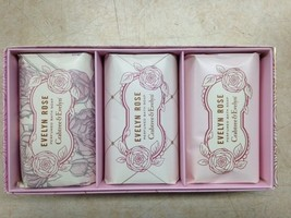Crabtree and Evelyn, Evelyn Rose Soap 3x 100 Gr... - $26.00