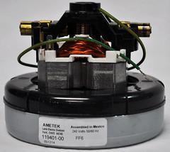 Ametek Lamb 240 Volt, 5.7 Inch Diameter, 1 Stage, Through Flow Motor 119... - $130.25