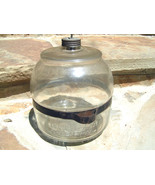 OLD Glass Stove Kerosene Bottle 1913 Jug Bottle bz - $89.99
