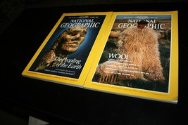 Lot of 2 National Geographic Magazines Various 1988 Issues - $15.84