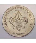 Boy Scout Creed Secret Coin Medal Vintage Scouts - $13.81