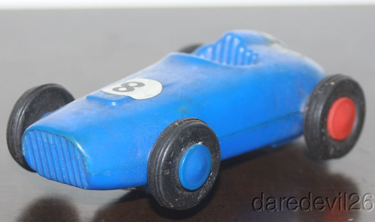 Vintage 1960`s Ungar Fireball #8 Indy Car Open Wheel Blue 4
